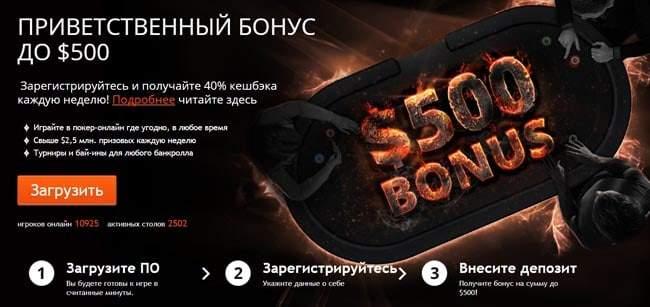 Официальный сайт PartyPoker